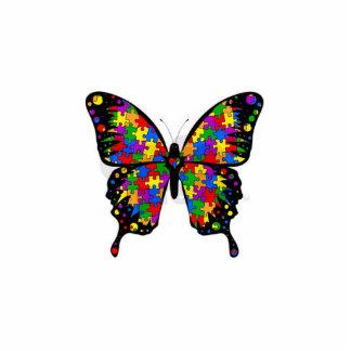 Llavero de la mariposa de ASD Llavero Fotográfico