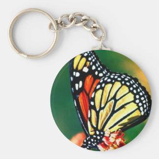 Llavero de la mariposa de monarca