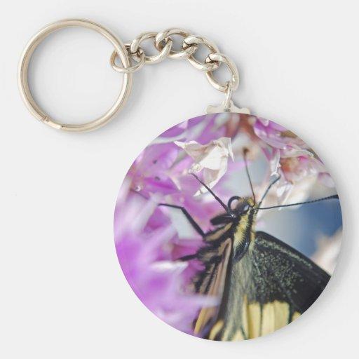 Llavero de la mariposa de Swallowtail