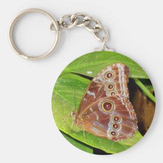 Llavero de la mariposa del castaño de Indias