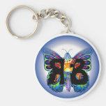 Llavero de la mariposa RFB