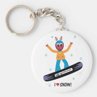 Llavero de la mochila de Puterbug de la snowboard