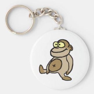 Llavero de la muñeca del mono