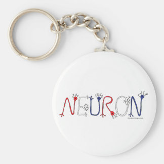 Llavero de la neurona (patriótico)
