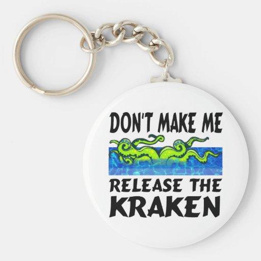 Llavero de la novedad de Kraken