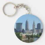 Llavero de la opinión de Cleveland, el río Ohio