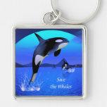 Llavero de la orca