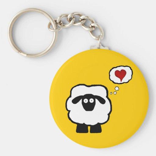 Llavero de la oveja del amor