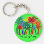 Llavero de la palmera de la Florida