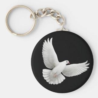 Llavero de la paloma de la paz
