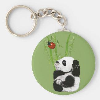 llavero de la panda del bebé