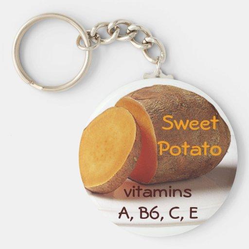 llavero de la patata dulce