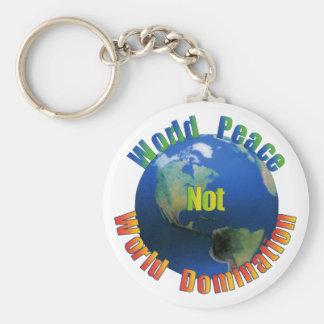 Llavero de la paz de mundo