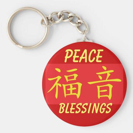Llavero de la paz y de las bendiciones