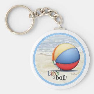 Llavero de la pelota de playa