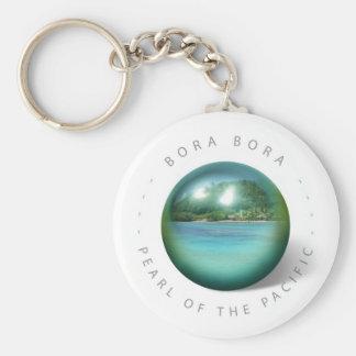 Llavero de la perla de Bora Bora