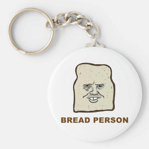 Llavero de la persona del pan