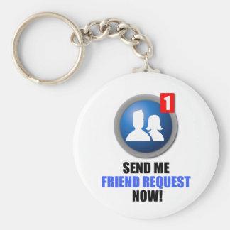 Llavero de la petición del amigo
