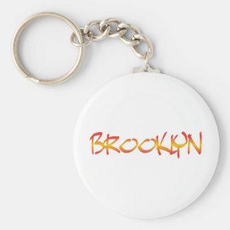 Llavero de la pintada de Brooklyn