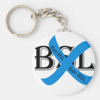Llavero de la prohibición BSL