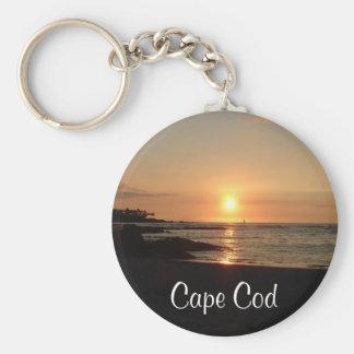 Llavero de la puesta del sol de Cape Cod