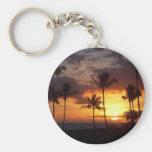 Llavero de la puesta del sol de Hawaii