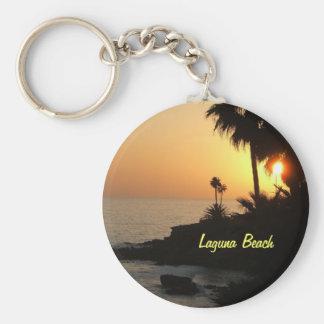 Llavero de la puesta del sol del océano del Laguna
