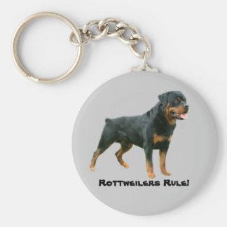 Llavero de la regla de Rottweilers