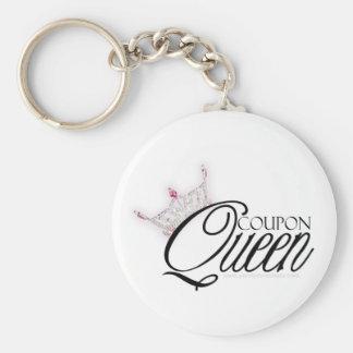 """Llavero de la """"reina"""" de la cupón"""