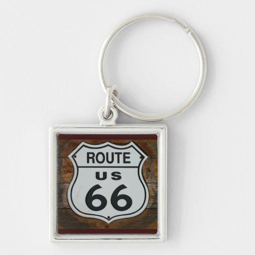 Llavero de la ruta 66