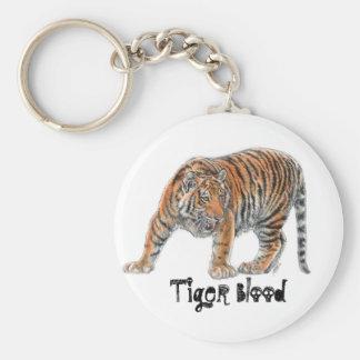 Llavero de la sangre del tigre