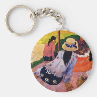 Llavero de la siesta de Gauguin