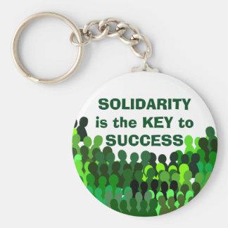 Llavero de la solidaridad