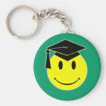 Llavero de la sonrisa de la graduación