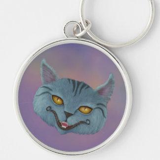 Llavero de la sonrisa del gato de Cheshire