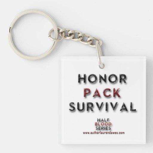Llavero de la supervivencia del paquete del honor
