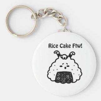 Llavero de la torta de arroz