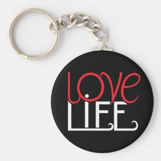 Llavero de la vida del amor
