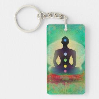 Llavero de la yoga de la meditación