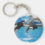 Llavero de las ballenas de la orca