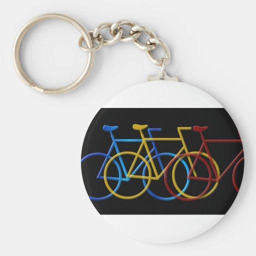 Llavero de las bicicletas