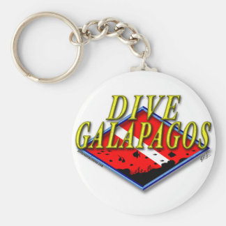 Llavero de las Islas Galápagos de la zambullida