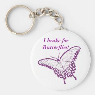 Llavero de las mariposas