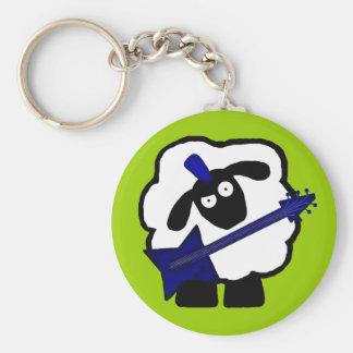 Llavero de las ovejas del guitarrista