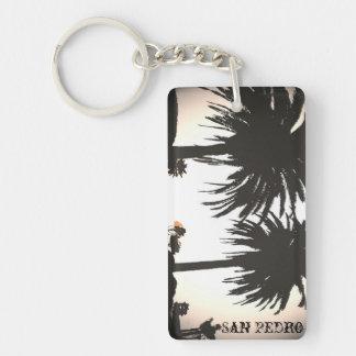 Llavero de las palmas reales de San Pedro