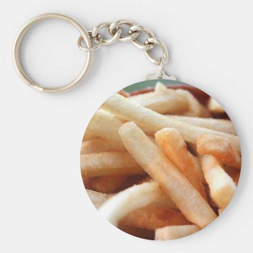 Llavero de las patatas fritas