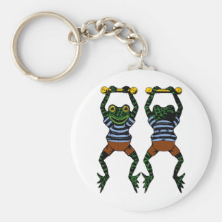 Llavero de las ranas del acróbata