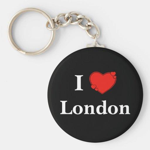 Llavero de Londres del corazón I