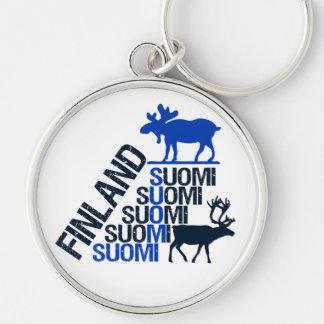 Llavero de los alces y del reno de Finlandia - per