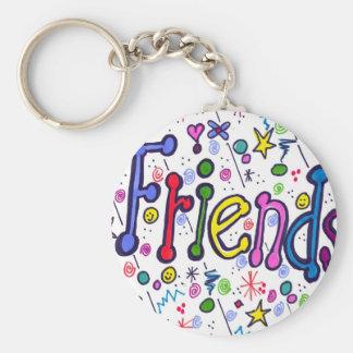 Llavero de los amigos